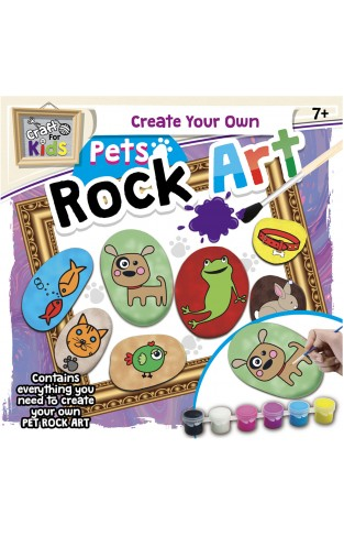 Rock Painting Kit - Pets