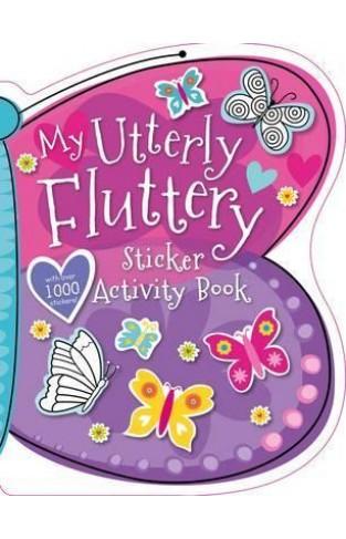My Utterly Fluttery Sticker