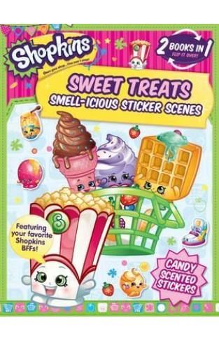 Flipover Shopkins Sticker Book : Sweet Treats