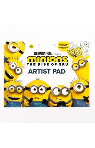 Minions the Rise of Gru artist pad