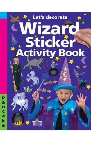 Wizard Sticker Activity: Pancake Let's Decorate