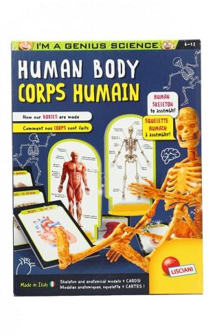 Lisciani Genius Discover Human Body 48960