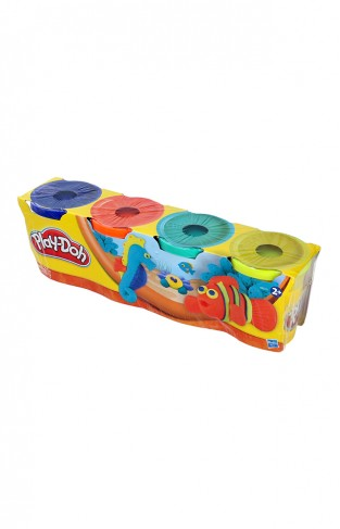 HASBRO PLAY-DOH PACK OF FOUR JARS