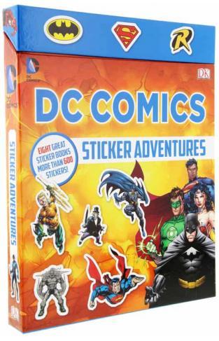 DC Comics Sticker Adventures