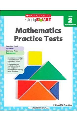 Scholastic Study Smart Mathematics Practice Tests Level 2