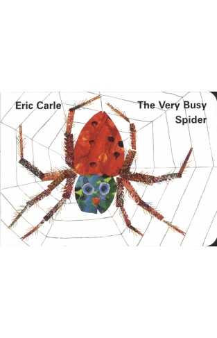 Hiba  The Very Busy Spider Board book