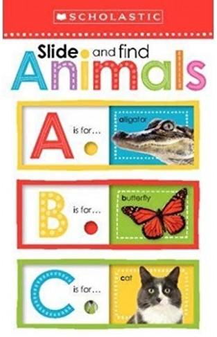 Slide and Find Animals ABC (Scholastic Early Learners)