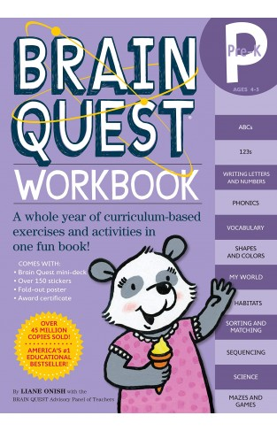 Brain Quest Workbook Pre - K