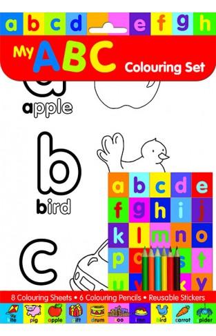 My ABC Colouring Set