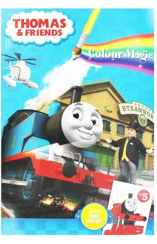 Thomas And Friends Magic Painting Book