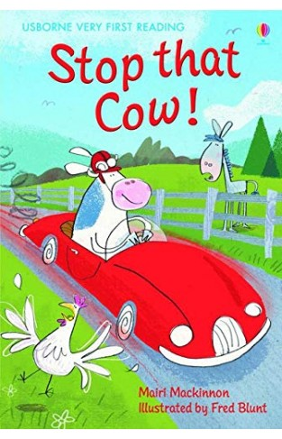 Usborne Very First Reading # 7: Stop that Cow !