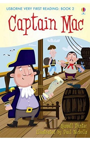 Captain Mac Very First Reading Books Set 2