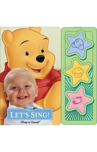 Disney Baby Lets Sing 3 Button Sound Book -