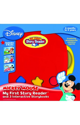 Mickey Mouse My First Story Reader 3 book in Box -