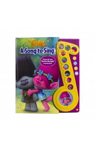 Dreamworks Trolls Deluxe Music Note Sound Book (play-a-song)