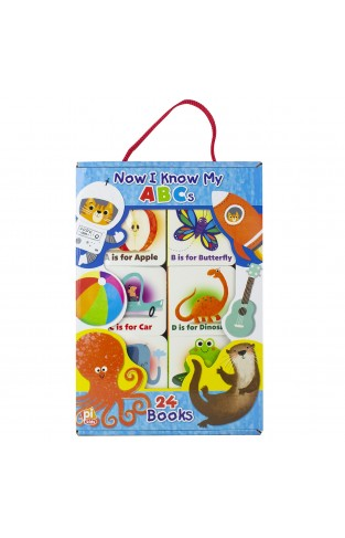 Now I Know My Abcs My First Library Book Block 24-book Set