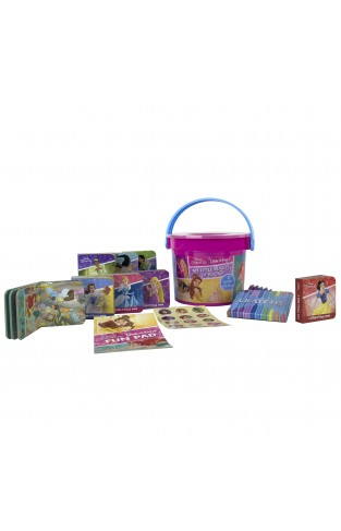 Disney Princess - My First Library Look And Find Book Block Bucket 8-book Set - Pi Kids