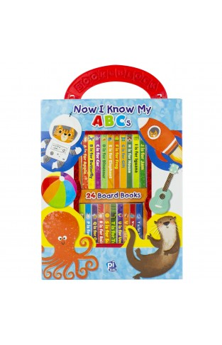 Now I Know My Abcs My First Library 24-book Set - Pi Kids