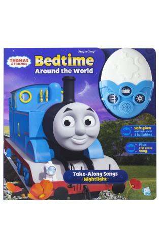 Thomas & Friends - Bedtime Around The World Take-along Songs Nightlight - Play-a-sound - Pi Kids
