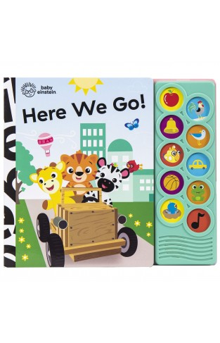 Baby Einstein - Here We Go! 10-Button Sound Book