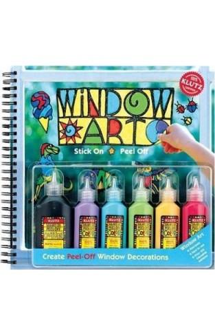 Window Art Classic Create Peel Off Window Decorations