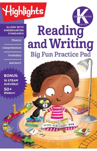 Kindergarten Reading and Writing Big Fun Practice Pad (Highlights Big Fun Practice Pads)