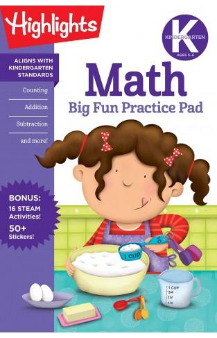 Kindergarten Math Big Fun Practice Pad (Highlights Big Fun Practice Pads)