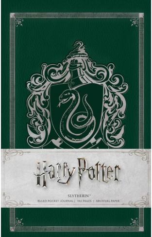 Harry Potter Slytherin Ruled Pocket Journal