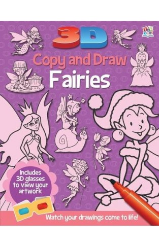 3D Copy and Draw Fairies -