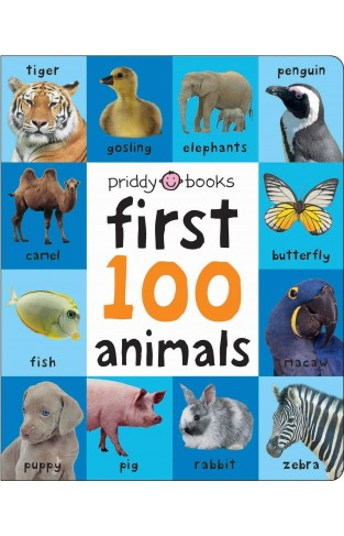 First 100 Soft To Touch Animals