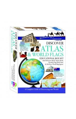 Discover Atlas & World Flags Educational