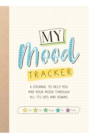 my mood tracker a years journal to help you map your mood through all its ups and downs