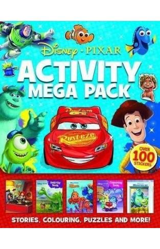 Disney Pixar: Mixed: Activity Mega Pack
