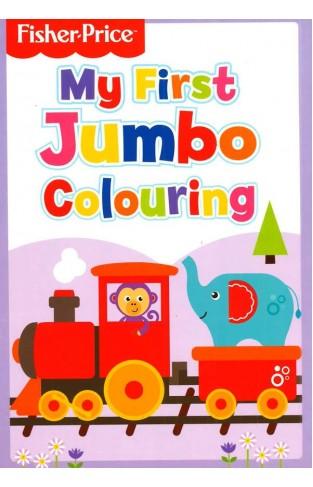 Fisher Price Jumbo Colouring Book