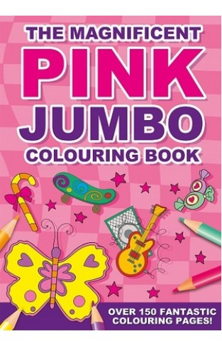 The  Magnificent Pink Jumbo Col Book