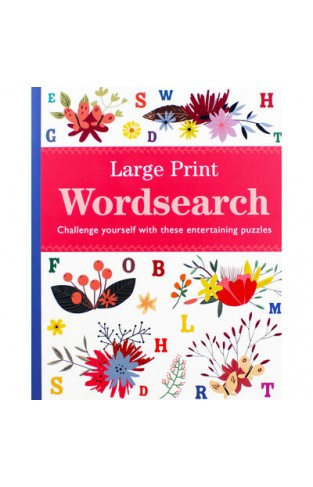 Large Print Wordsearch: Challenge Yourself with These Entertaining Puzzles
