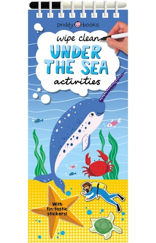 Wipe Clean Thins Under The Sea