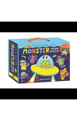 Touch & Feel Monster Jigsaw Puzzle Box