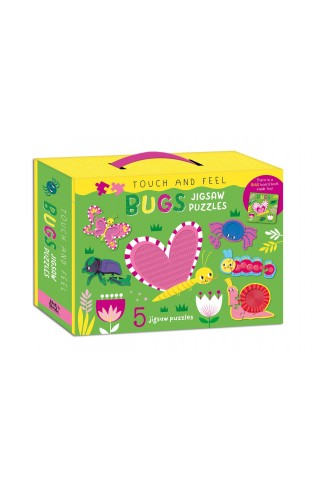 Touch & Feel Bugs Jigsaw Puzzle Box set