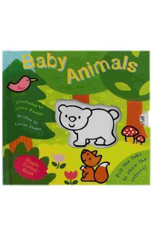Baby Animals - Magic Colour Book