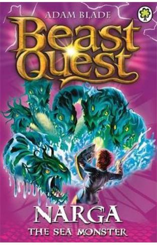 Beast Quest: (Series 3 Book 3) Narga the Sea Monster - (PB)