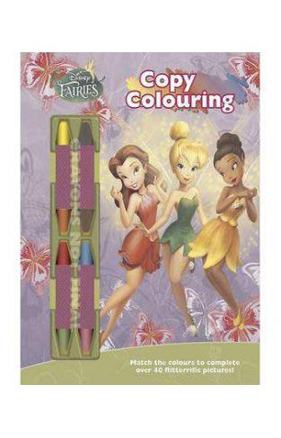 Disney Fairies Copy Colouring