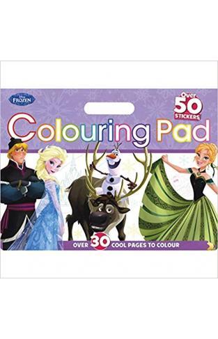 Disney Frozen Colouring Floor Pad