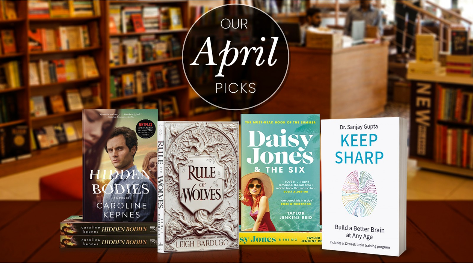 Book of the Month April