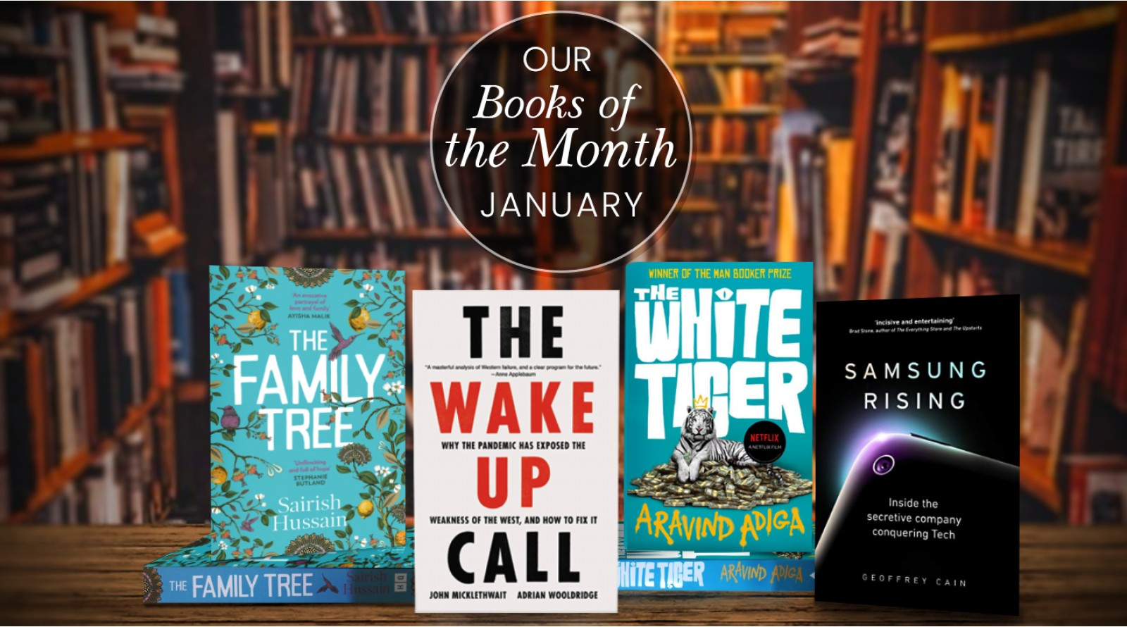 Books of the Month January