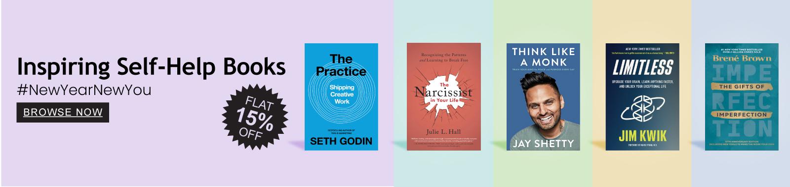 Inspiring Self help books