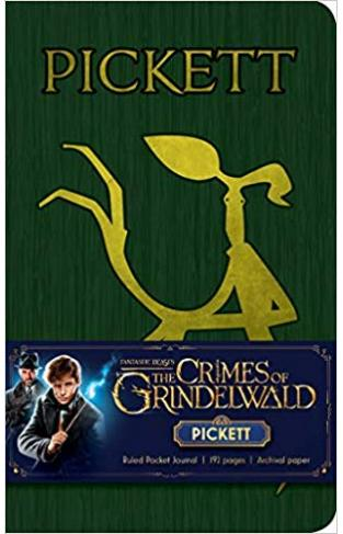 Fantastic Beasts: The Crimes of Grindelwald: Pickett Ruled Pocket Journal (Harry Potter) - Hardcover