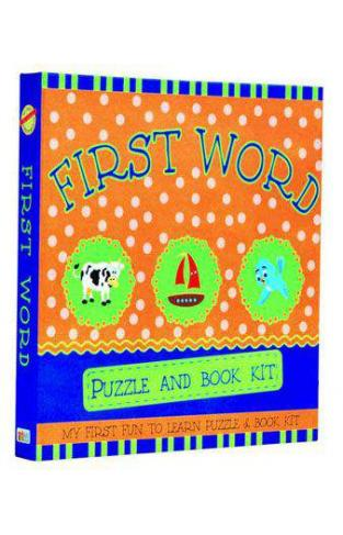 First Word Puzzle & Book Kit
