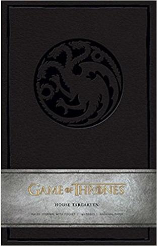 Game of Thrones Ruled Journal: House of Targaryen - Hardcover