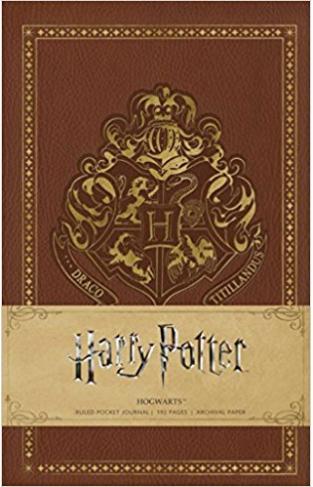 Harry Potter Hogwarts Pocket Journal (Harry Potter Journals)  - Hardcover